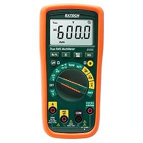 digital multimeter, multimeters, digital meter, how to use a voltmeter, true rms multimeter