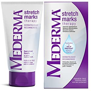 Amazon Com Mederma Stretch Marks Therapy Hydrates To Help