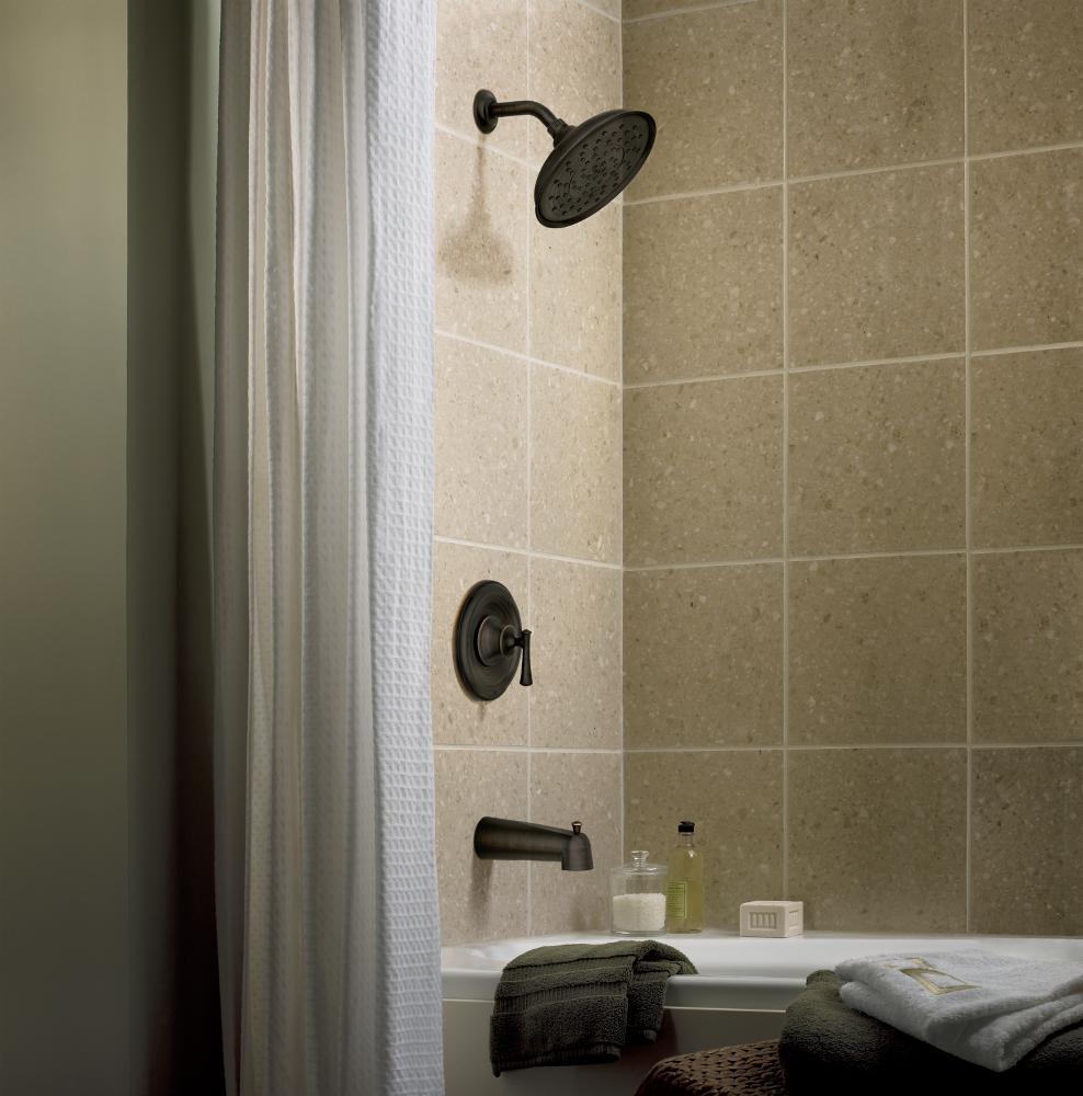 Moen 82877brb Ashville Positemp Tub And Shower Faucet Set