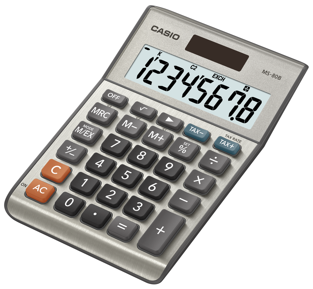 Amazon casio ms 80b standard function desktop calculator from the manufacturer falaconquin