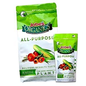 Organic all purpose fertilizer Jobe's granular slow release time-released
