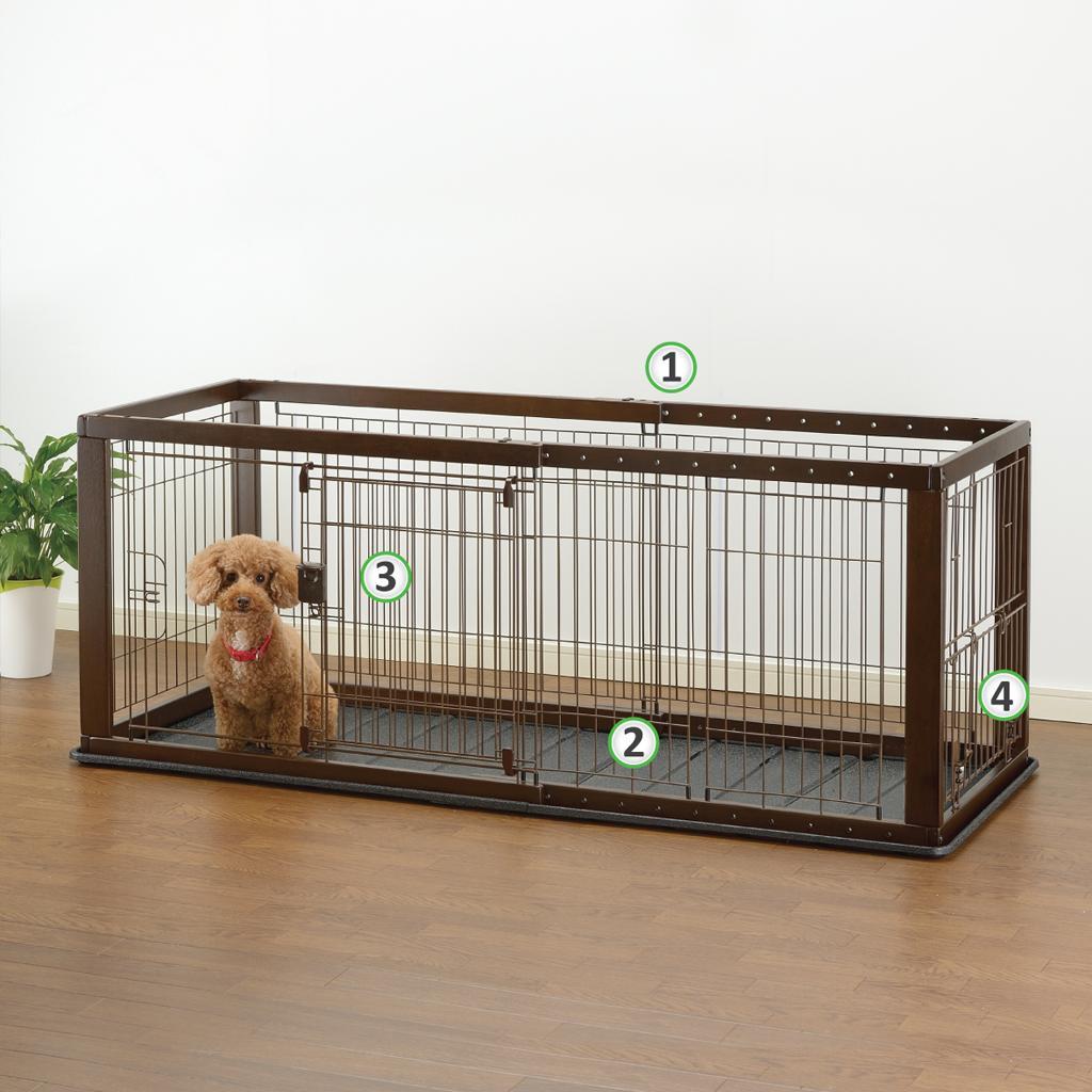 Richell Expandable Pet Crate B00ots9t5q 7800 Bvldu