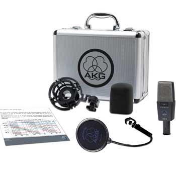 akg pro audio c414 xls instrument condenser microphone multipattern musical. Black Bedroom Furniture Sets. Home Design Ideas