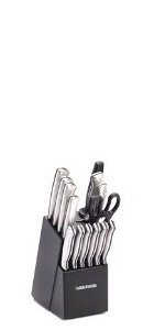 Amazon.com: Farberware 15-Piece Stamped Stainless Steel ...