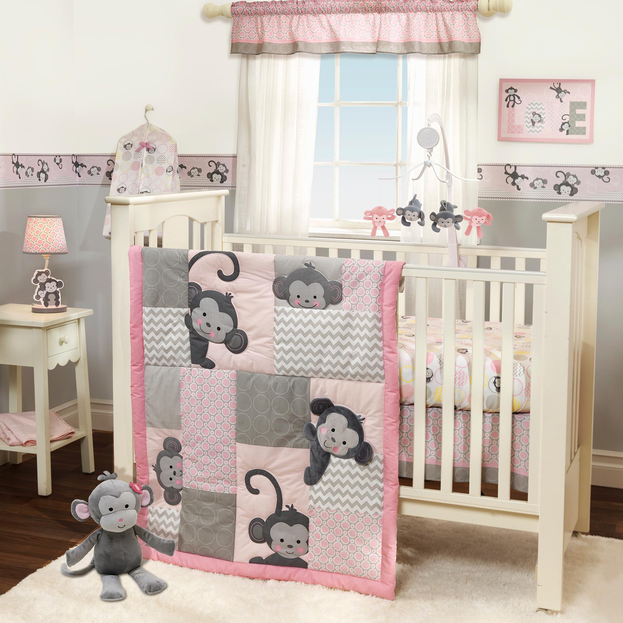 Decorate Your Little Oneu0027s Nursery In Comfort And Style With This Pinkie Crib  Bedding Set.