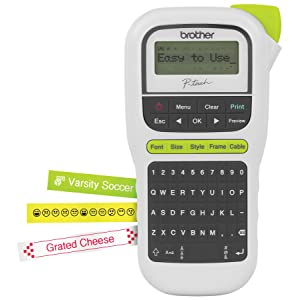 Amazon Com Brother P Touch Pth110 Easy Portable Label Maker