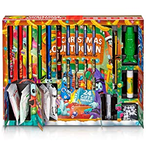 Crayola - Countdown to Santa with Daily Surprises