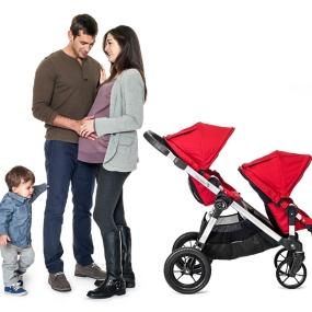 Amazon Com Baby Jogger City Select Stroller In Ruby