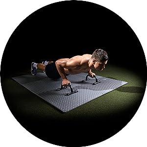 ProSource foam floor, fitness mat, exercise mat,