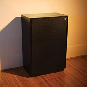 klipsch 12 inch subwoofer. the cornwall iii derives its name from being first klipsch loudspeaker designed to operate either a corner or against wall (corn/wall). 12 inch subwoofer