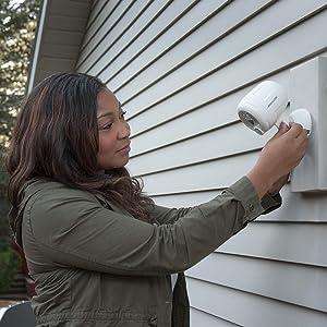 wireless outdoor spotlight, battery spotlight outdoor, motion sensor light, battery led spotlight