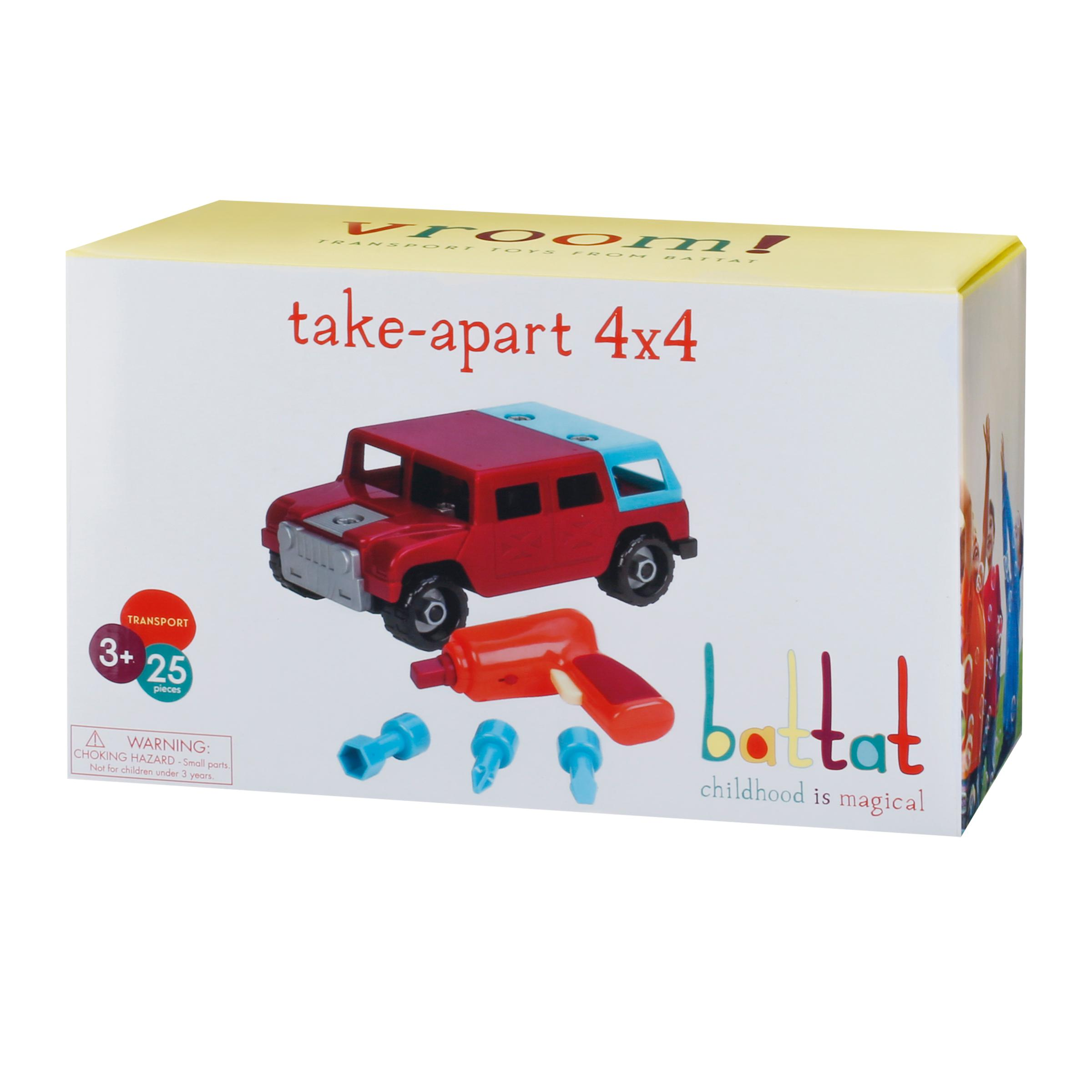 Amazon Com Battat Take A Part Vehicle 4x4 Old Model Toys Games