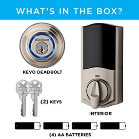kevo 2, unboxing