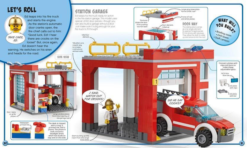 Lego City Build Your Own Adventure Dk 9781465450463 Amazon