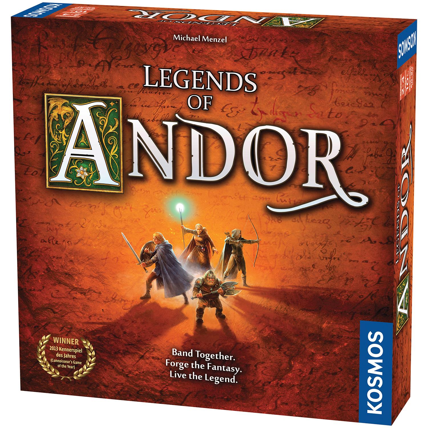 Image result for legends of andor box