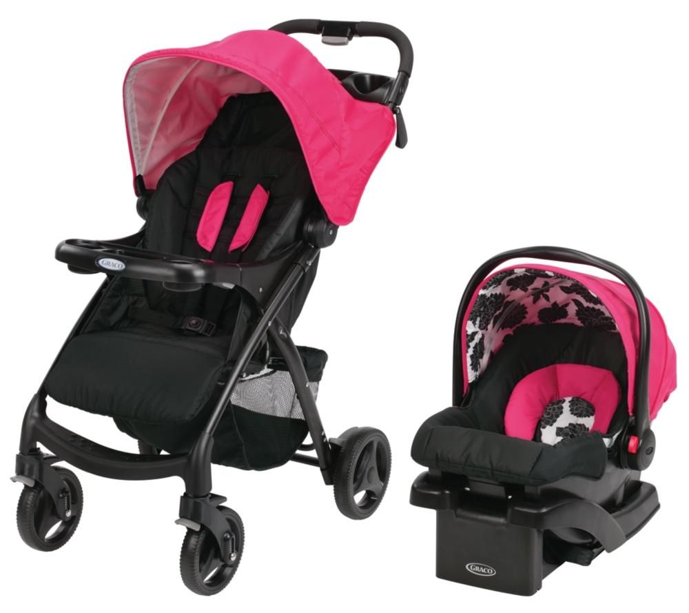 Amazon Graco Verb Travel System Stroller Azalea Baby