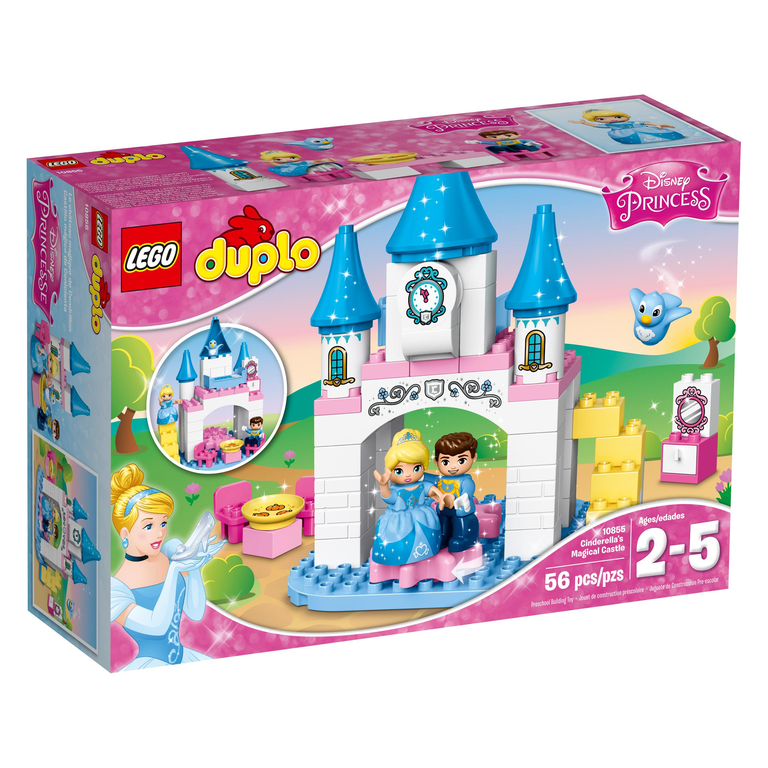 Cinderella S Magical Castle Building Set