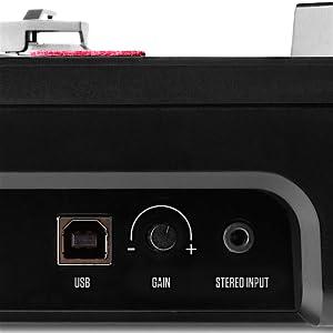 numark pt01 scratch dj turntable for portablists with user replaceable scratch. Black Bedroom Furniture Sets. Home Design Ideas