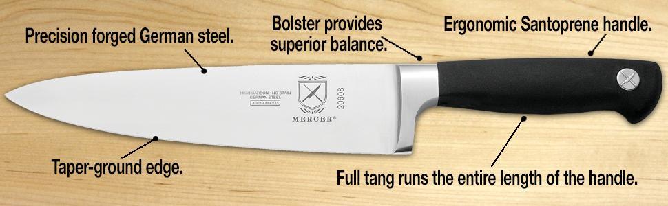 mercer genesis magnetic board knife sets