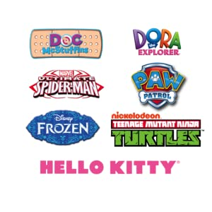 disney, hello, kitty, nick, ninja, turtles, tmnt, doc, mcstuffins, spider-man, frozen, spiderman