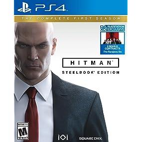 Amazon Com Hitman Collector S Edition Playstation 4 Video Games