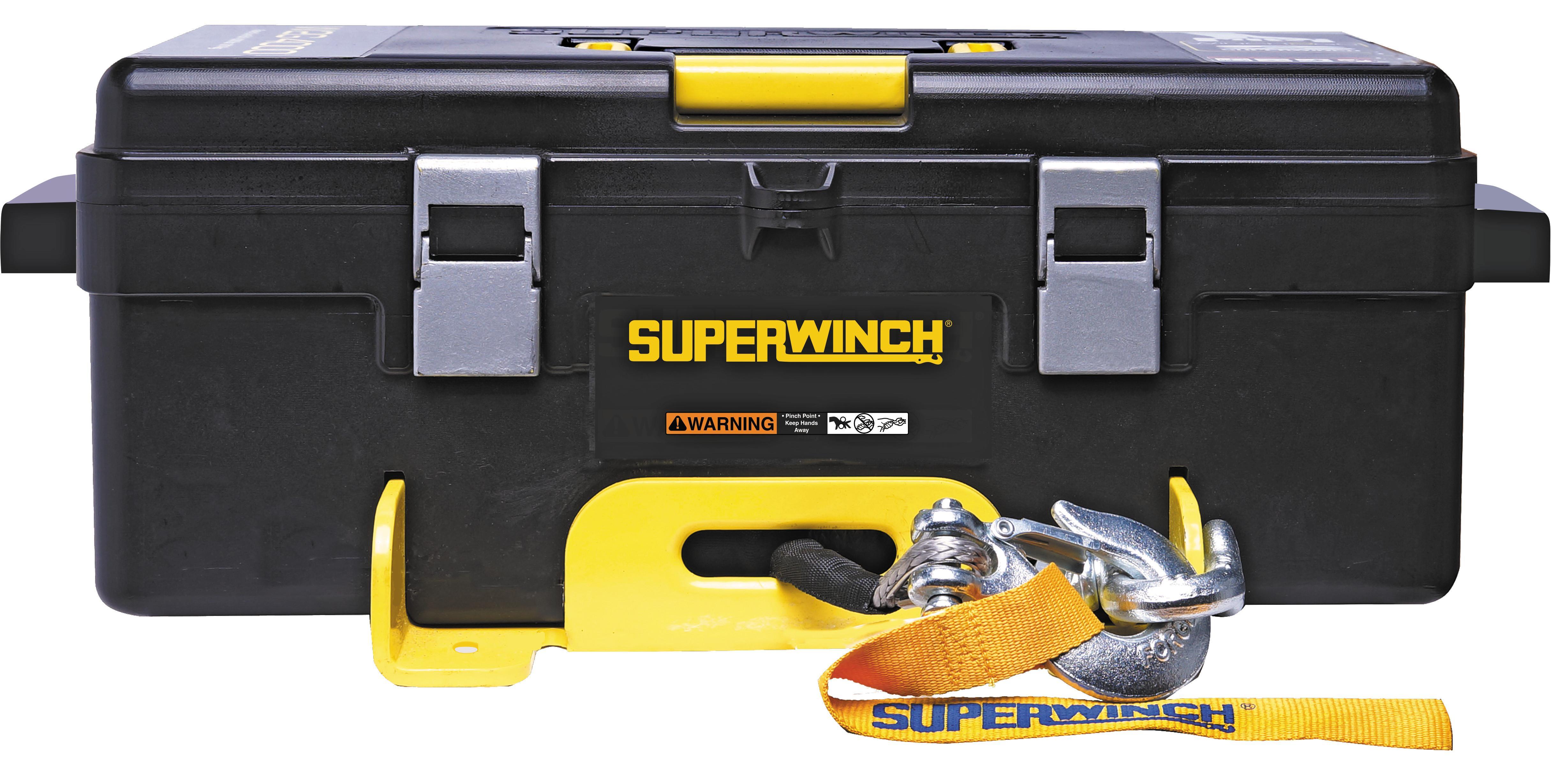 Amazon Com Superwinch 1140232 Winch 2 Go 12v 4000sr
