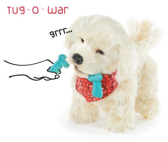 Amazon.com: Georgie - Interactive Plush Electronic Puppy