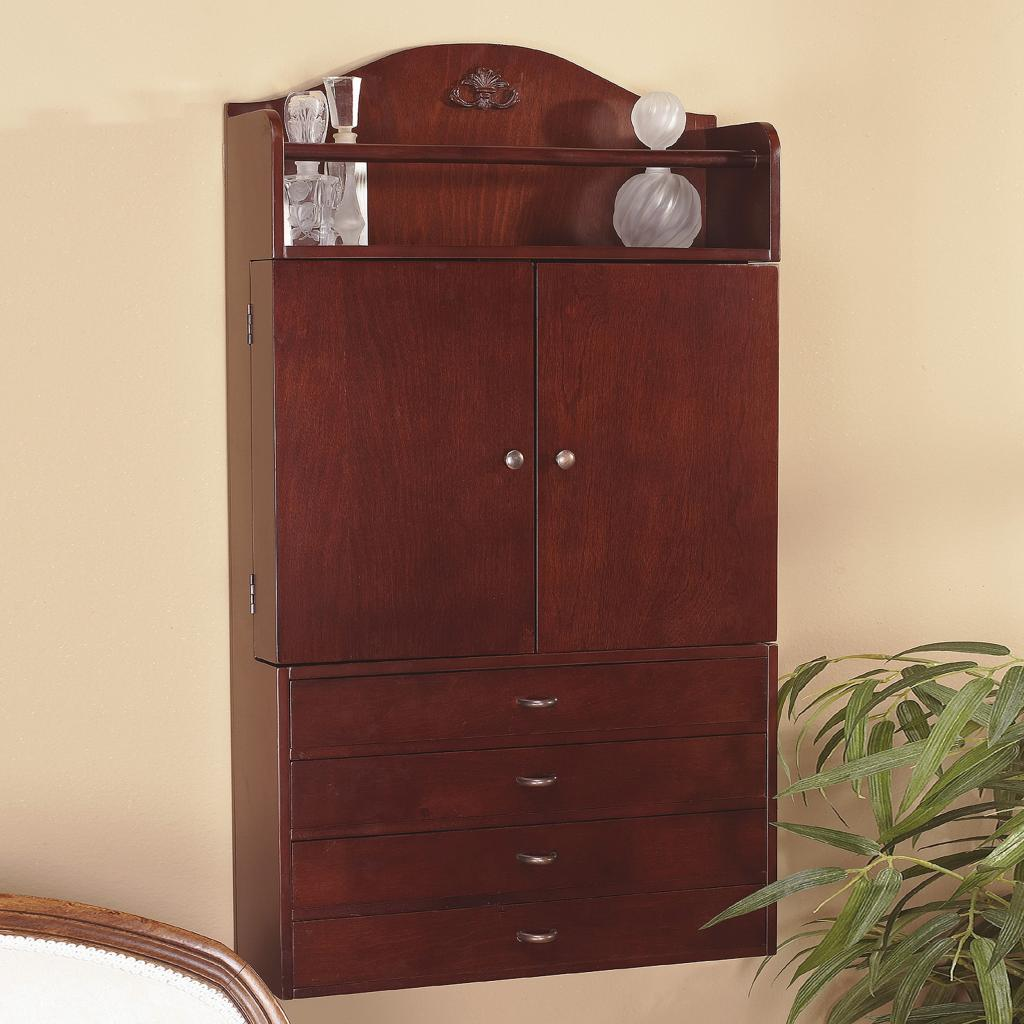 Amazon.com: Southern Enterprises Jewelry Armoire Wall ...