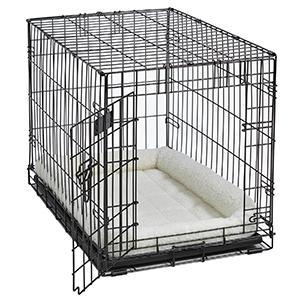 Fleece Bed in Crate