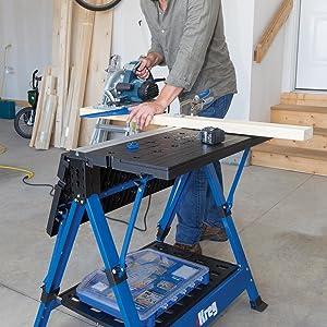 Kreg 483159 Mobile Arbeitsstation KWS1000 blue