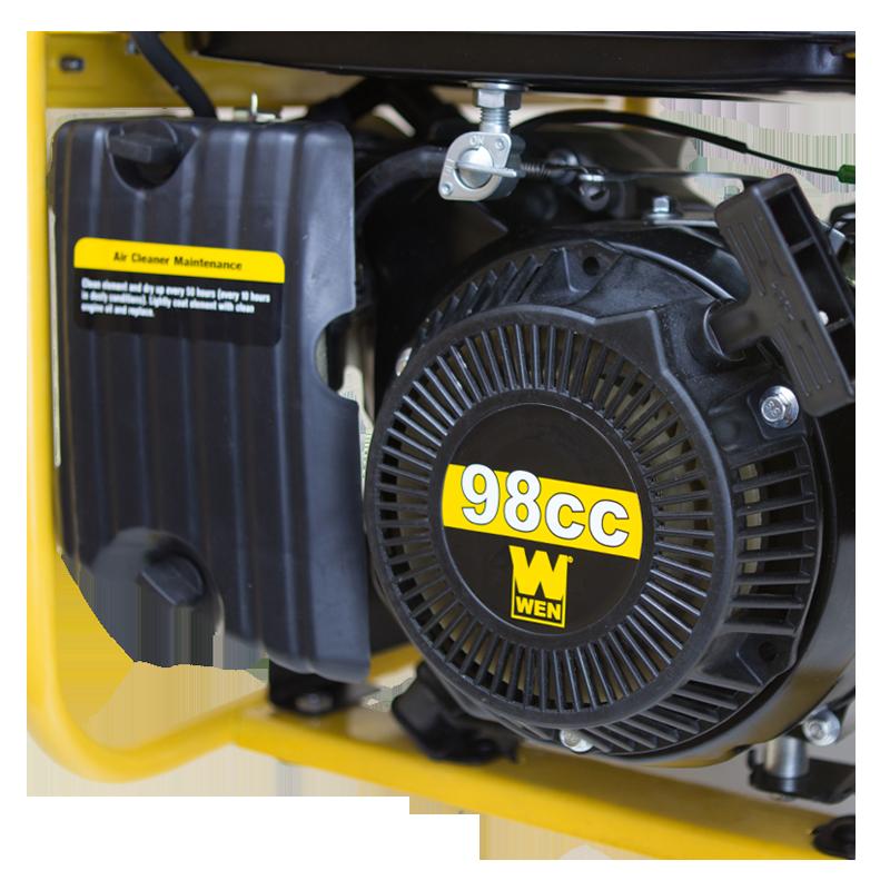 Wen 56180 1800 Watt Portable Generator Carb Compliant