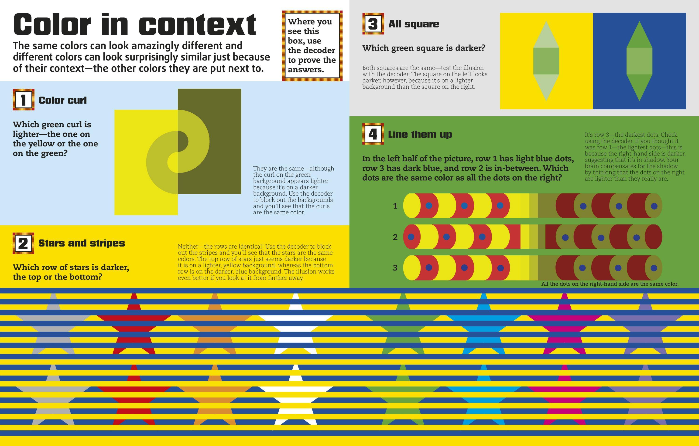 Color Illusions: DK: 9781465422859: Amazon.com: Books