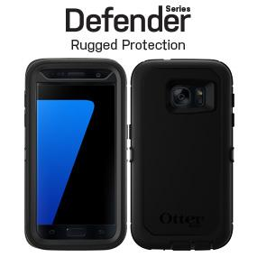 free shipping f0530 17608 OtterBox DEFENDER SERIES Case for Samsung Galaxy S7 - Retail Packaging -  BLACK