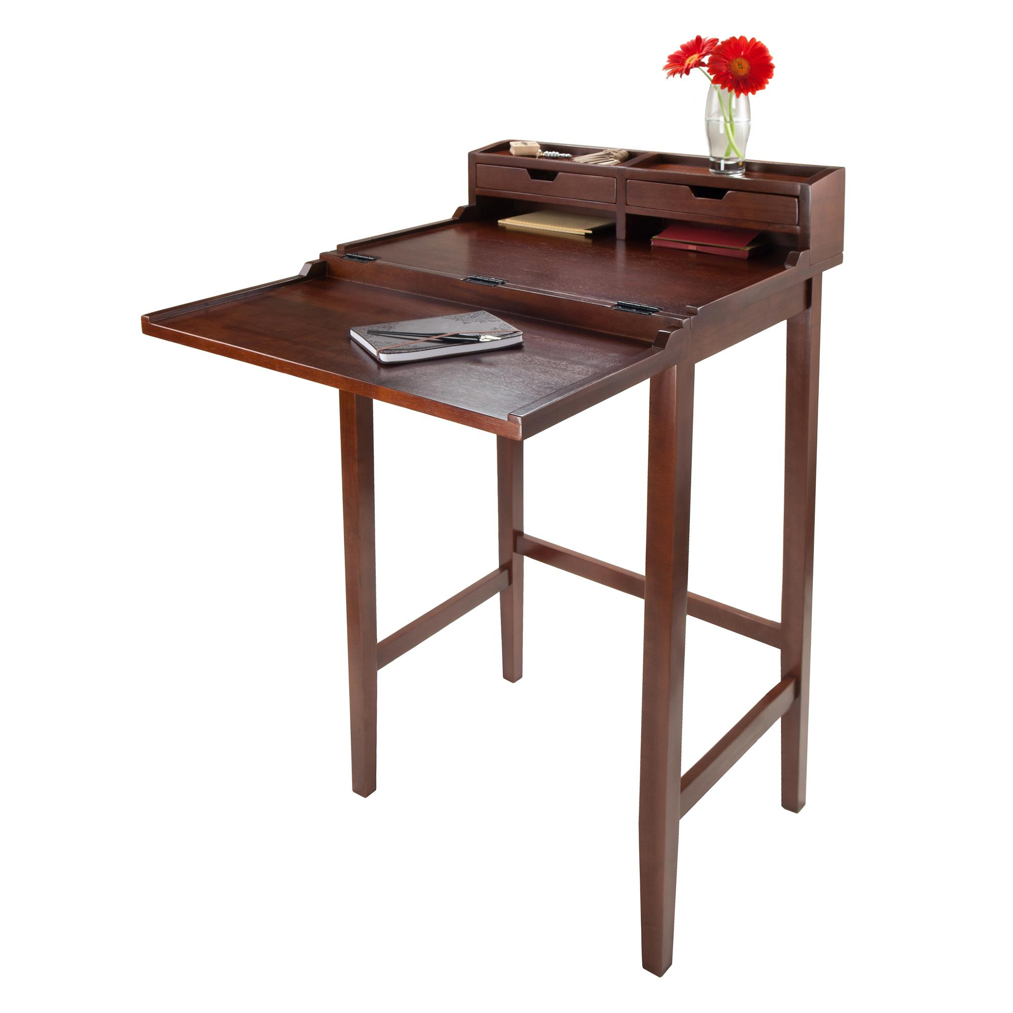 italian chairish brown burl desk product wood