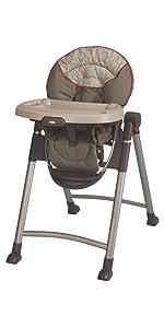 Amazon Com Graco Slim Snacker High Chair Whisk Baby