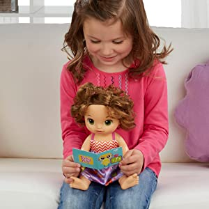 Amazon Com Baby Alive Ready For School Baby Brown Hair