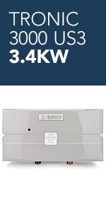 Bosch Electric Tankless Water Heater Eliminate Time For