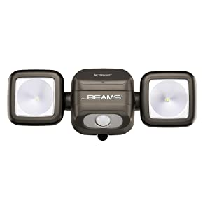beams security lights, led battery spotlight, motion sensor led lights, net bright, netbright lights