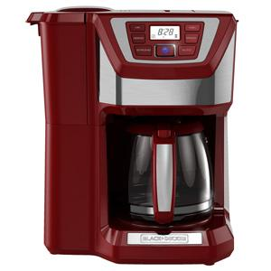 12-Cup Mill & Brew Coffeemaker (Red)