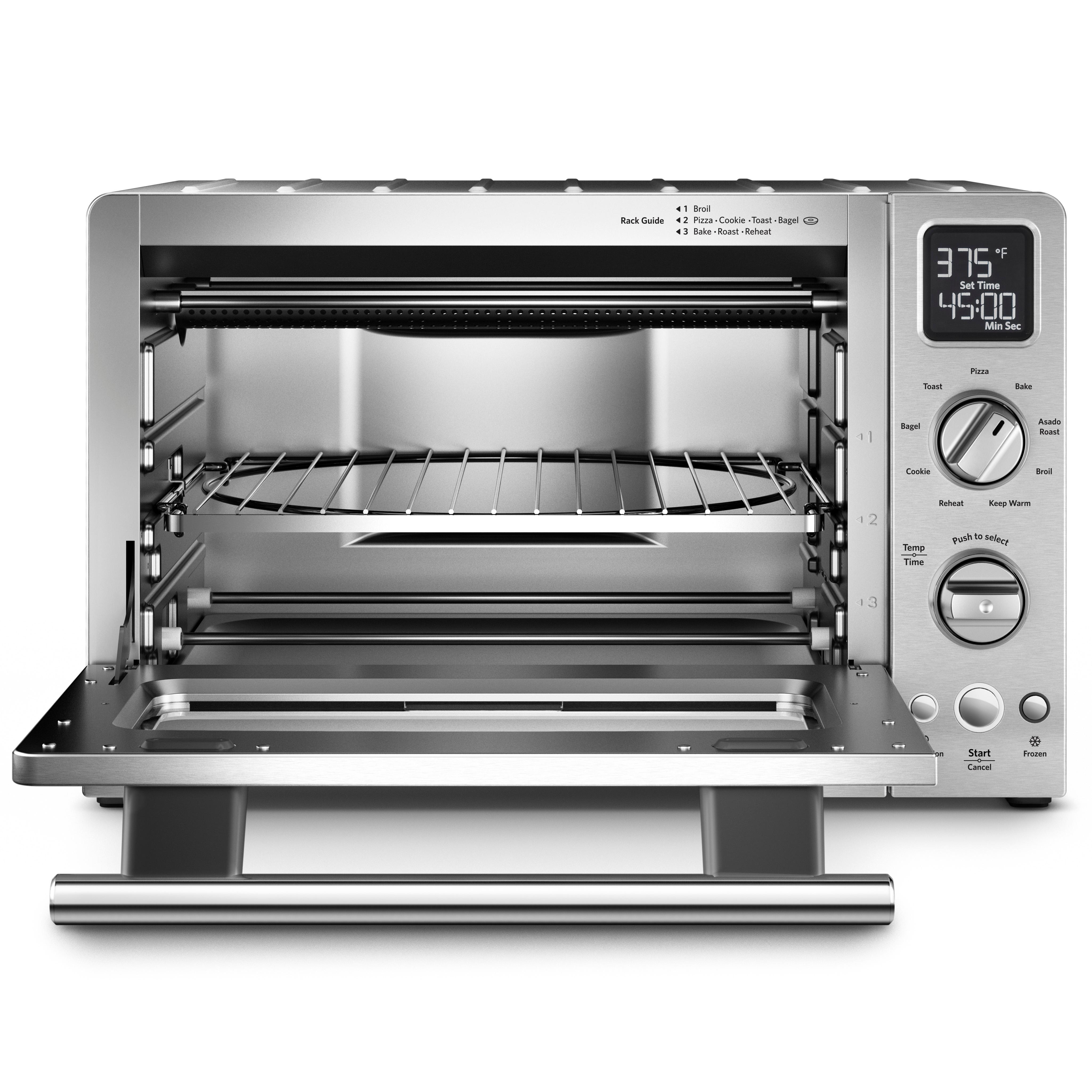 oven com toaster stainless decker black countertops countertop large steel convection ip walmart