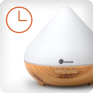 Amazon.com: Diffusers for Essential Oils, TaoTronics 300ml