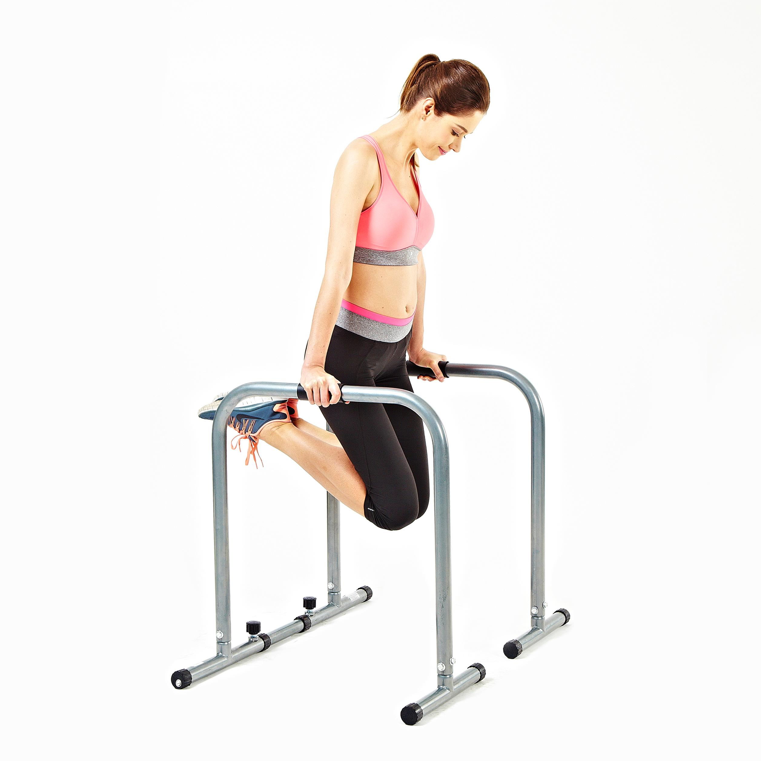 Dips Replacement Exercise: Amazon.com : Sunny Health & Fitness SF-BH6507 Dip Station
