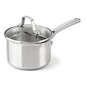 Calphalon Classic Stainless Steel 1.5-Quart Covered Sauce Pan