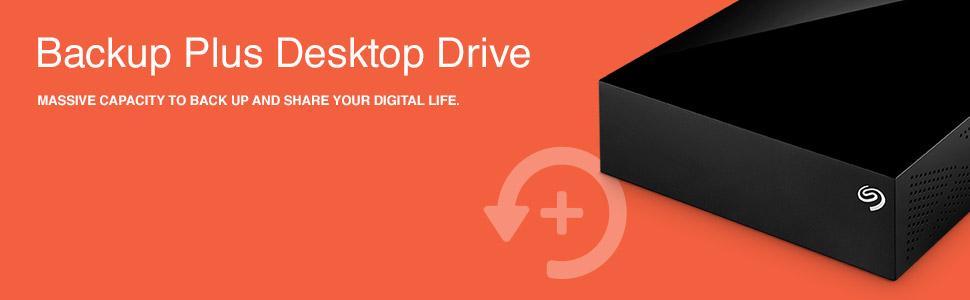 Backup Plus Desktop External Hard Drive