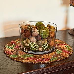 anchor hocking; glass; party bowl; trifle bowl; salad bowl; dessert bowl; decorate; decor;