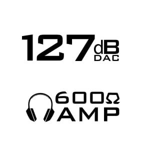 Creative Sound Blaster X7 High-Resolution USB DAC 600 ohm Headphone Amplifier