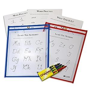 Dry Erase Pocket Study Kit