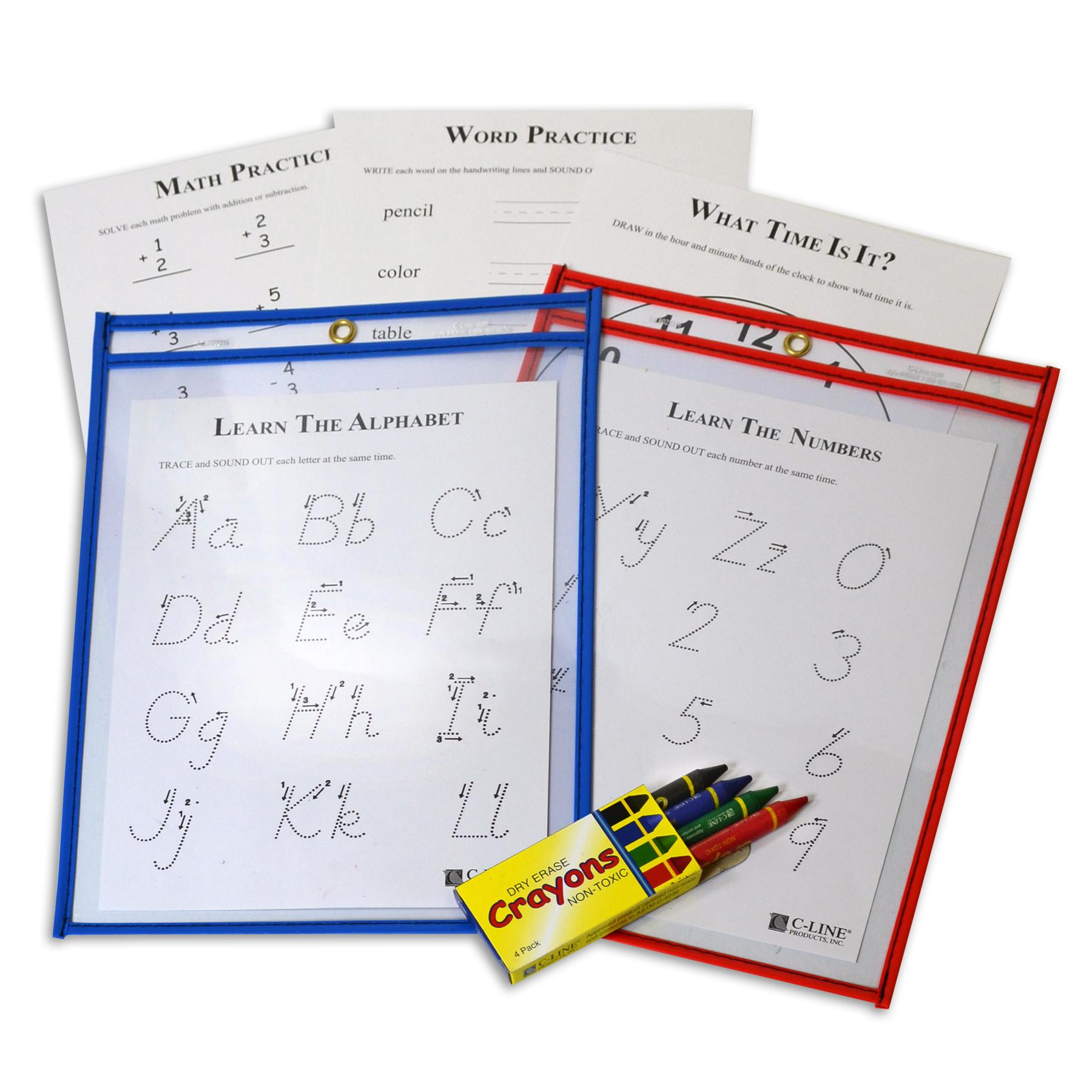 Numbers Dry-Erase Packet