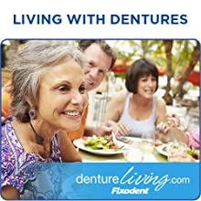 Living with Dentures - fixodent, secure denture adhesive, denture glue