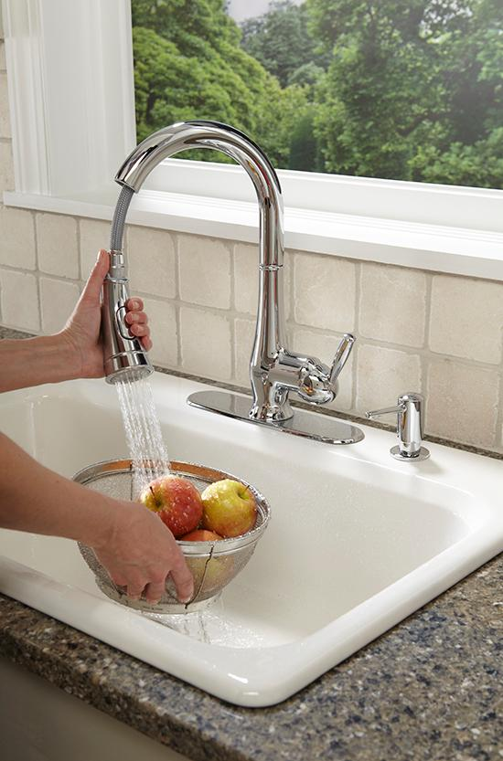 Grohe 30216000 Wexford Single Handle Pull Down Spray Head